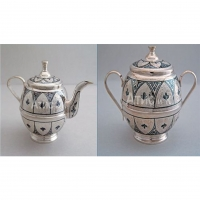 Teapots and Sugar bowls